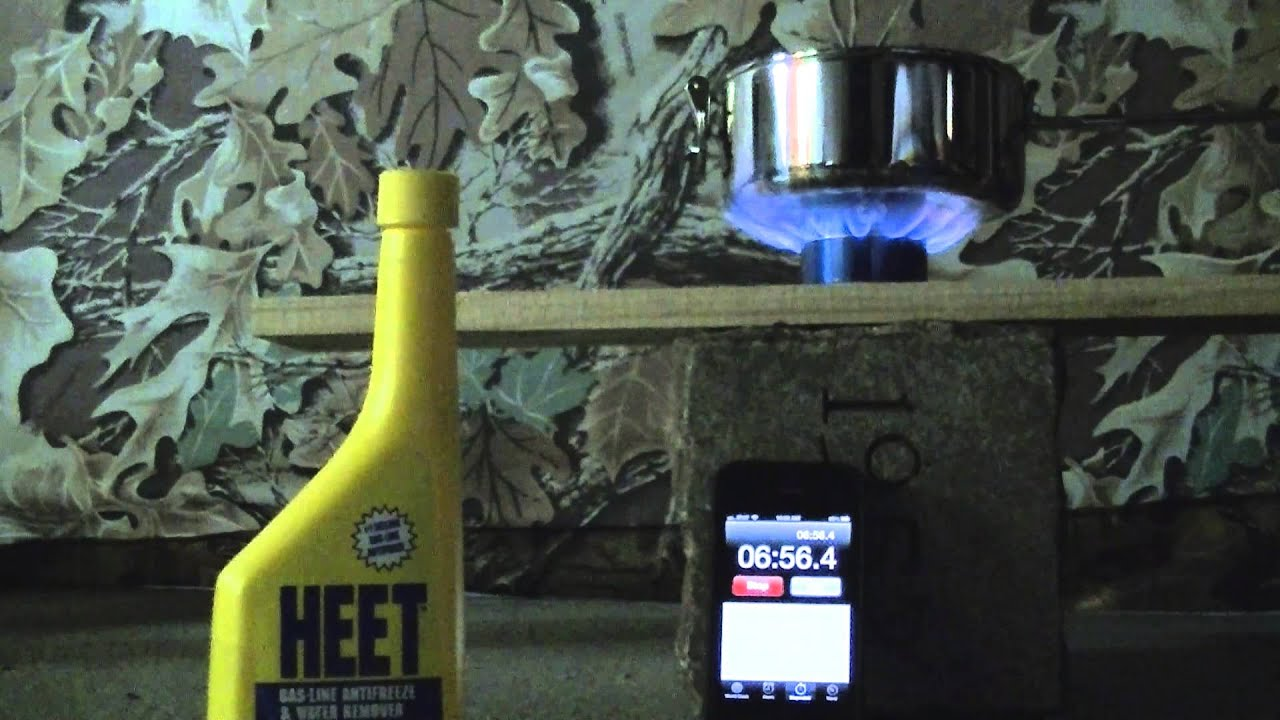 heet vs everclear alcohol stove
