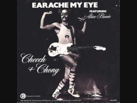 Earache my eye/Turn that thing down! featuring Alice Bowie Cheech and Chong