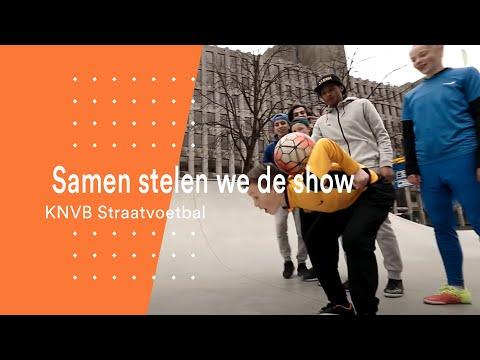 KNVB Straatvoetbal 2016: Samen stelen we de show