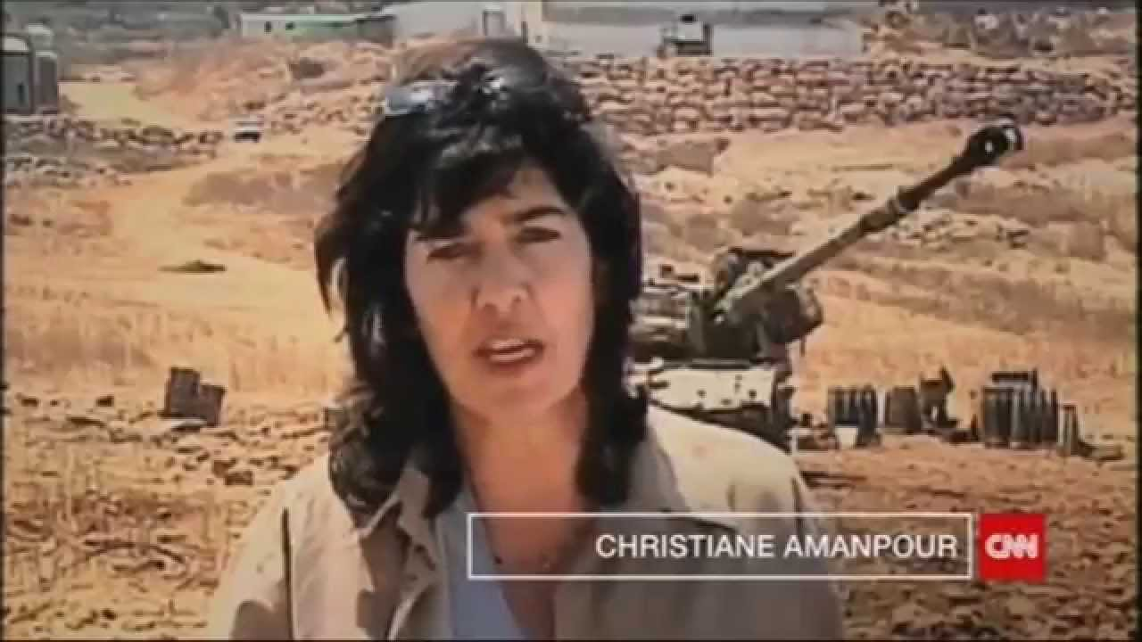 "CNN International: ""go there"" - Christiane Amanpour - YouTube"