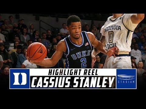 Duke G Cassius Stanley Best Plays So Far - 2019-20 Season | Stadium