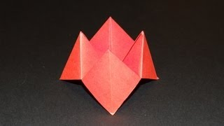 How To Make An Origami Paper Finger Game - Fortune Teller