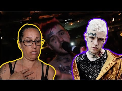 Mom REACTS to Lil Peep (RIP Lil Peep)