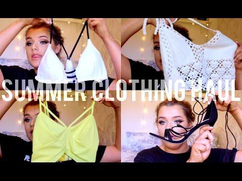 Summer Clothing Haul! - Rachel Leary - 동영상