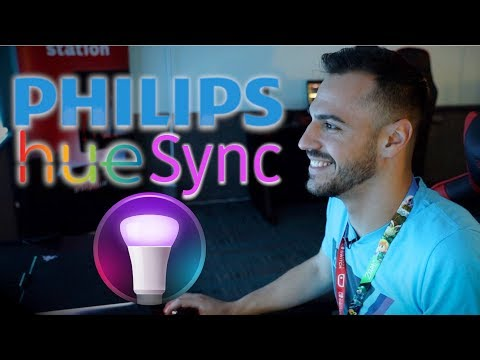 Philips Hue Sync Demo - Lighting for Video Games, Music, and More on Mac and PC