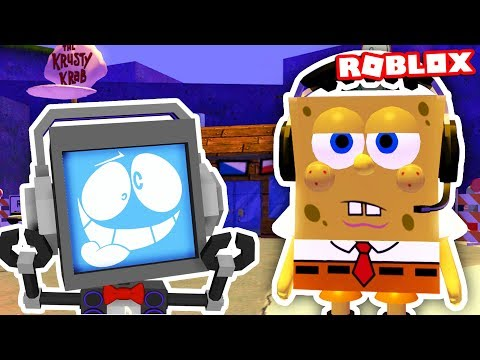 SPONGEBOB SQUAREPANTS MOVIE OBBY in Roblox Let's Play ► Fandroid the Musical Robot!