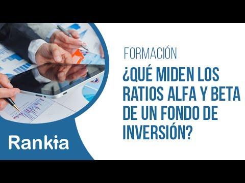 ¿Qué miden los ratios Alfa y Beta de un fondo de inversión?
