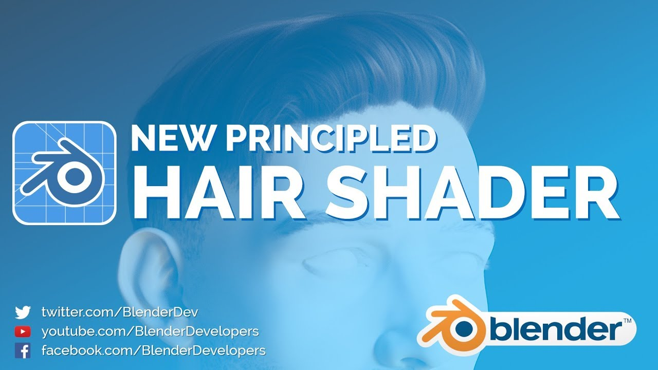 NEW HAIR SHADER! - Blender 2.8 Video