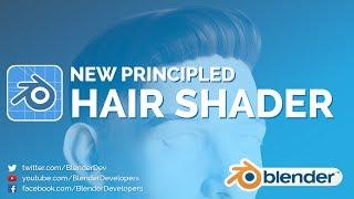 NEW HAIR SHADER! - Blender 2.8 Alpha