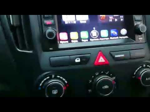 Видеообзор штатной магнитолы на Kia Ceed (2007-2009) Winca L023