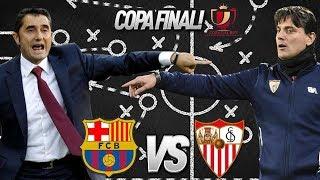 Barcelona vs sevilla, copa del rey final, 2018 - tactical preview