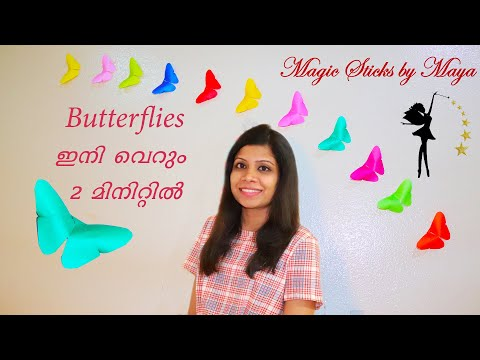 How To Make Paper Butterfly | Easy Origami Butterflies for Beginners | Paper Butterflies