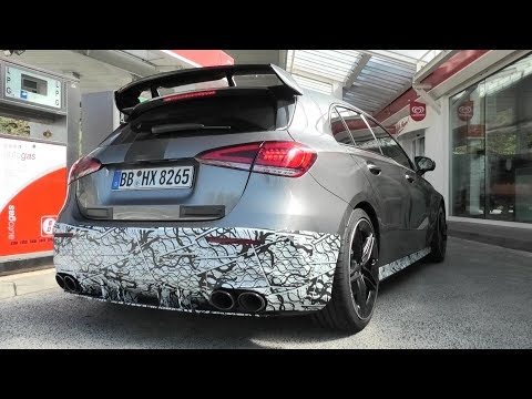 2020 MERCEDES-AMG A45s TESTING AT THE NÜRBURGRING