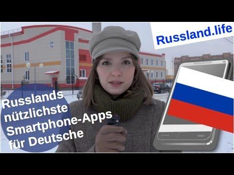 Russlands nützlichste Smartphone-Apps für Deutsche
