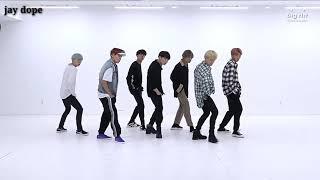 BTS dancing to Walmart Yodeling Kid Remix