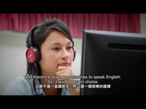 Zoe (U.S.A) Studying at National Cheng Kung University