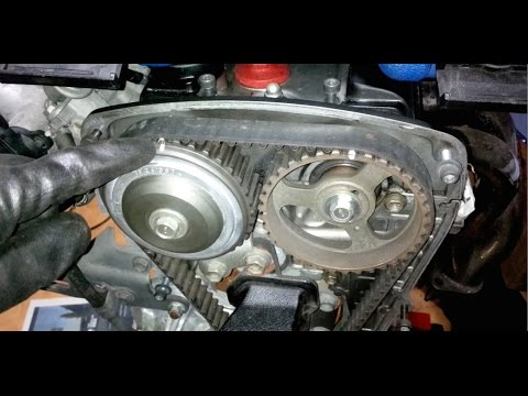 ᴴᴰ(Part 2) Toyota 4AGE 20 valve black top engine rebuild: Timing Components
