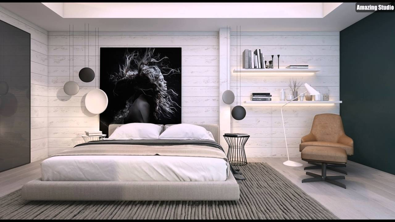 Schlafzimmer Wand Dekor Ideen - YouTube