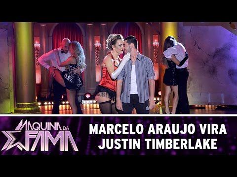 Máquina da Fama (27/06/16) Marcelo Araujo é Justin Timberlake