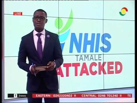 Attack on NHIS office leave subscribers stranded - 6/2/2017