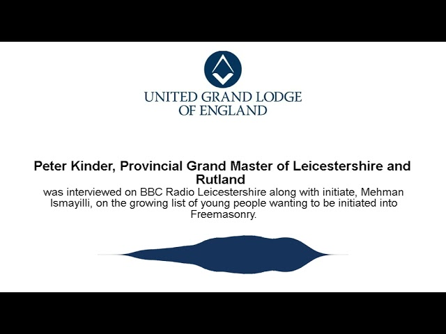 Growing List of Young People wanting to be initiated - BBC Radio Leicestershire Interview