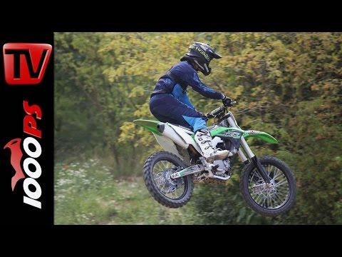 Kawasaki KX250F 2017 - Test der neuen Kawasaki Motocross Modelle