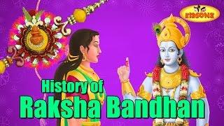 Karikatür Animasyon ile tarih Rakhi Festivali | Rakshabandhan Hikaye - KidsOne
