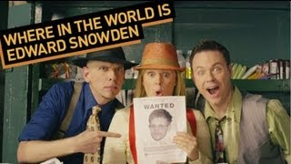 Where In The World Is Edward Snowden? (carmen Sandiego Parody)