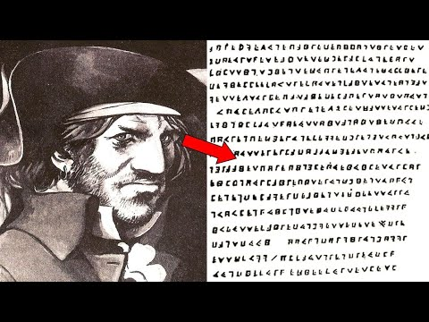 This French Pirate Left Behind A Mysterious Cryptogram That Can't Be Explained