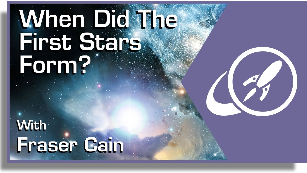 When Did the First Stars Form? - YouTube