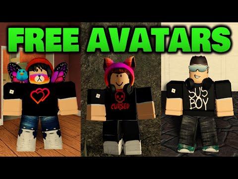 Making Amazing Roblox Avatars For Free!