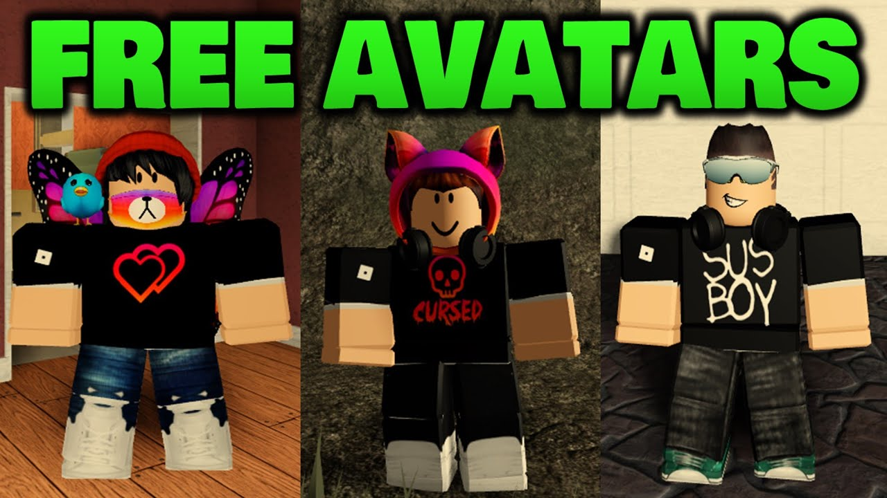 Making amazing Roblox avatars for free YouTube