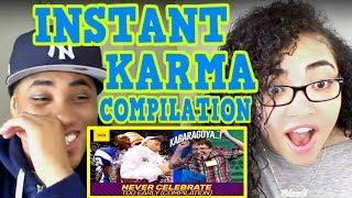 Celebrations Gone Wrong - Never Celebrate Too Early - Instant Karma COMPILATION #001 REACTION