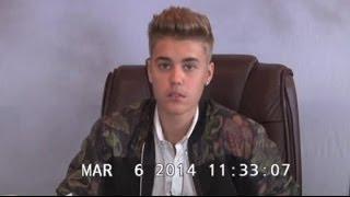 Justin Bieber wütend bei Anhörung
