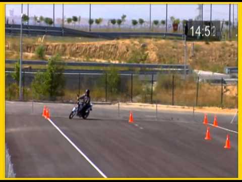 licencia para conducir motos nuevo examen prctico