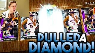 omg i pulled a diamond but didn t know it diamond vince carter nba 2k16 myteam packs