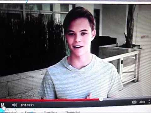 Watching the video of Christian Fortune 50.000 Followers 2 Hahahaha