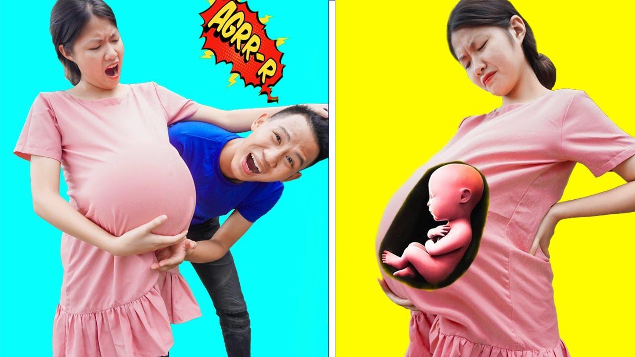 Những Tình Huống Hài Hước Gặp Phải Khi Mang Thai | Những Trò Chơi Khăm Bá Đạo | Kiwi Funny