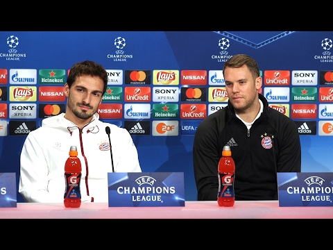 Manuel Neuer & Mats Hummels Full Pre-Match Press Conference - Bayern Munich v Arsenal