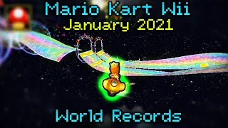Mario Kart Wii - World Record Review - January 2021