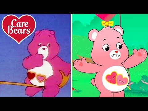 Classic Care Bears | The Evolution Of Love-a-Lot!