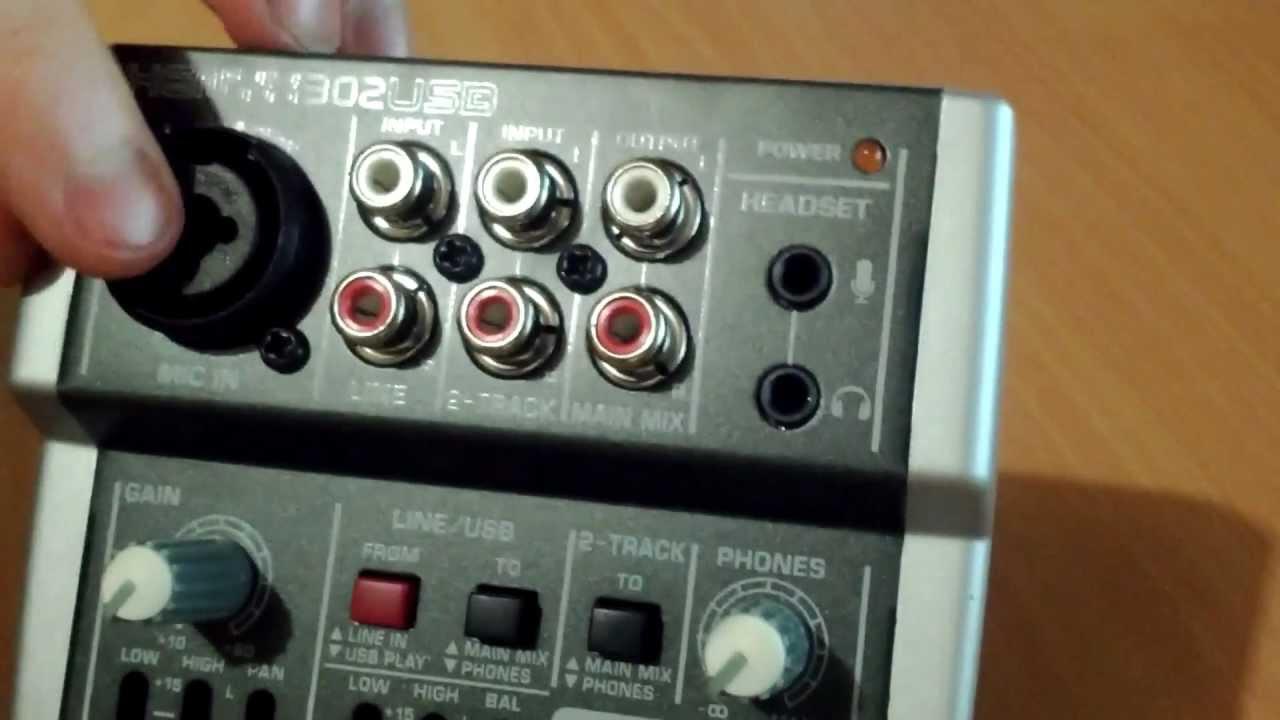 behringer xenyx 302usb audio mixer teardown youtube. Black Bedroom Furniture Sets. Home Design Ideas