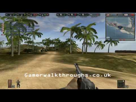 Battlefield 1942 walkthrough - Wake island [1/2]