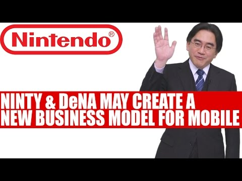 Nintendo & DeNA May Create New Business Model For Mobile Games Says Iwata