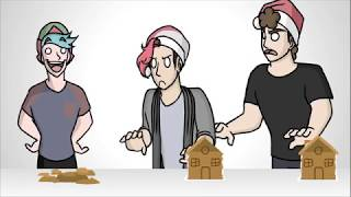 CAN WE HIT 1 BILLION LIKES  animated gingerbread house building