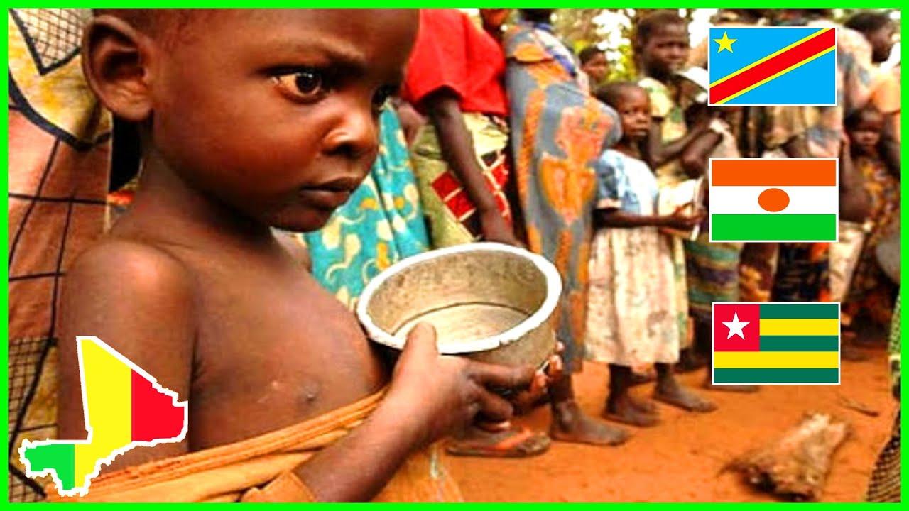 10 PAYS LES PLUS PAUVRES D'AFRIQUE - 2020