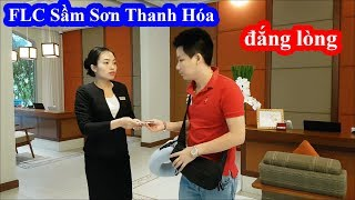 Giả nghèo mặc quần đùi dép lào ở resort FLC Sầm Sơn Thanh Hóa và cái kết đắng lòng