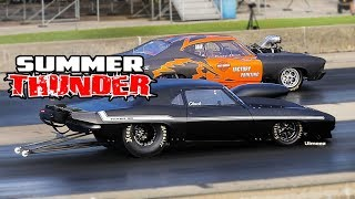 SUMMER THUNDER! CHICAGO WISEGUYS DOOR SLAMMERS! UNDER THE LIGHTS! BYRON DRAGWAY!