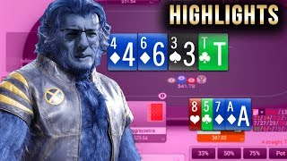 HIGHLIGHTS (Beast Mode at Party Poker) - Bankroll Challenge Day 13 - FREE $10