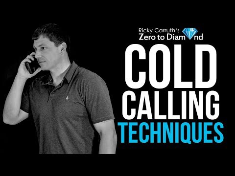 Cold Calling Techniques- 3 Ways To MASTER The Cold Call